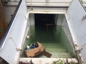 A Flooded Basement With Mold Growth